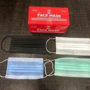 Surgical Disposable protective 3 ply Face masks
