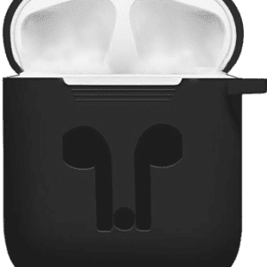 Buy Online Black Silicon Case of Airpods iPods Cover Price in Pakistan