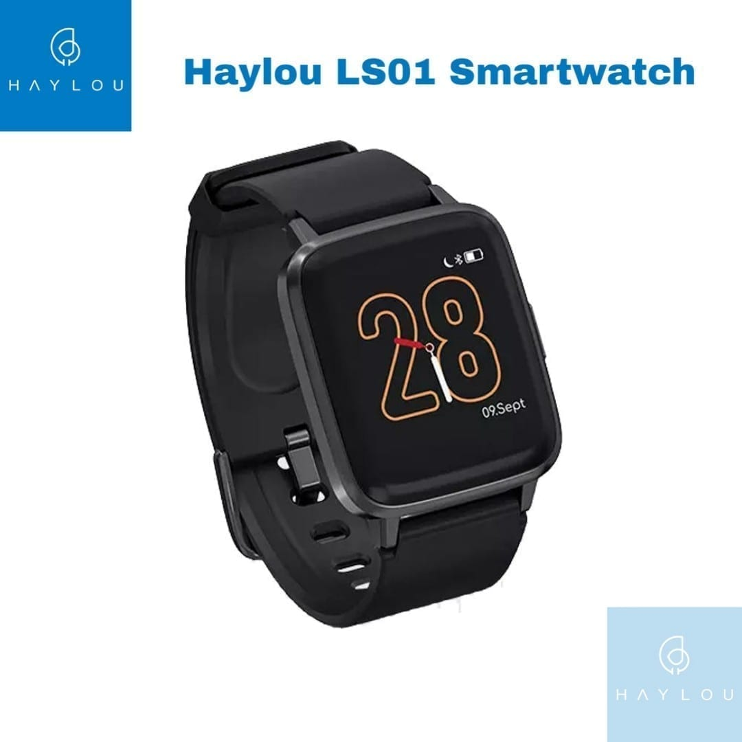 Buy Online Haylou LS01 Heart Rate Monitor Smartwatch