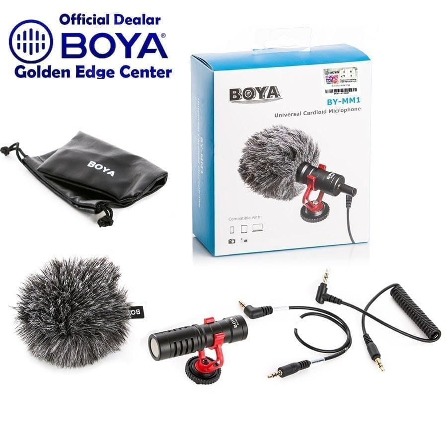 Buy Online BOYA BY-MM1 on-camera video microphone youtube vlogging mic price in Pakistan
