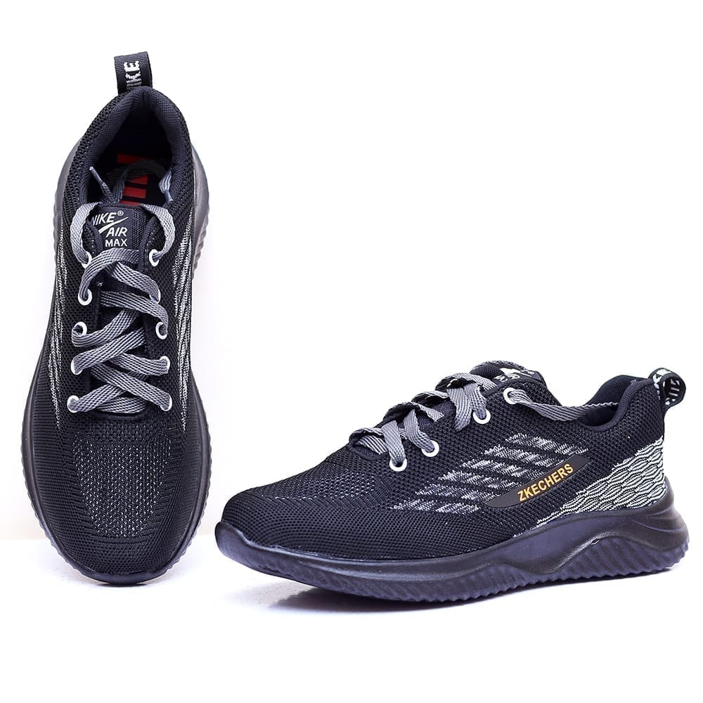 Buy Online Men Running Shoes Charcoal Black Color Price In Pakistan